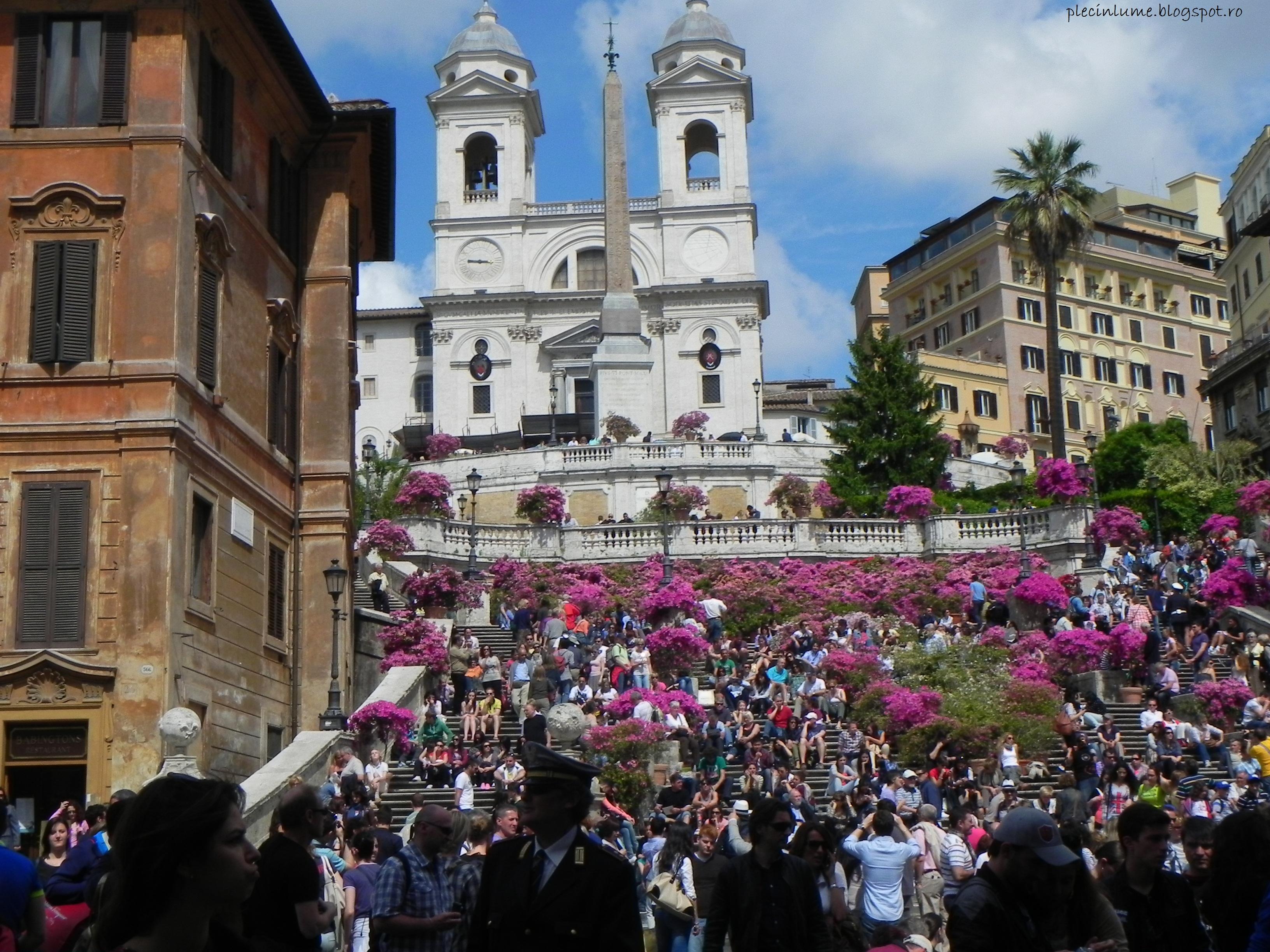 Piete frumoase de vazut in Roma