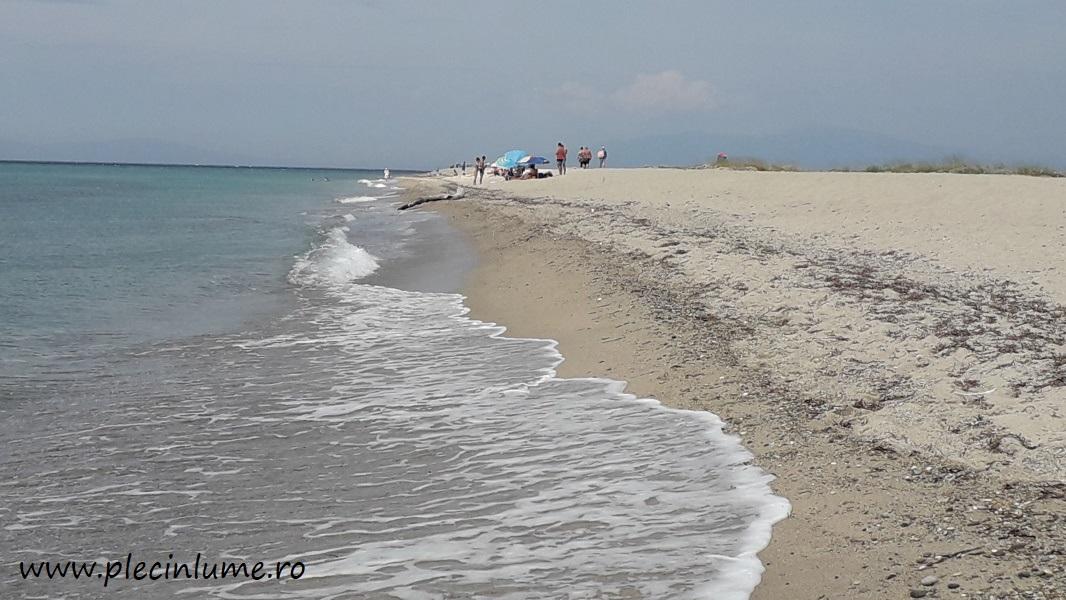 Plaja Posidi din Kassandra, Halkidiki