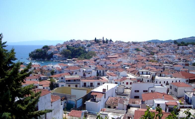 Excursie optionala in Skiathos
