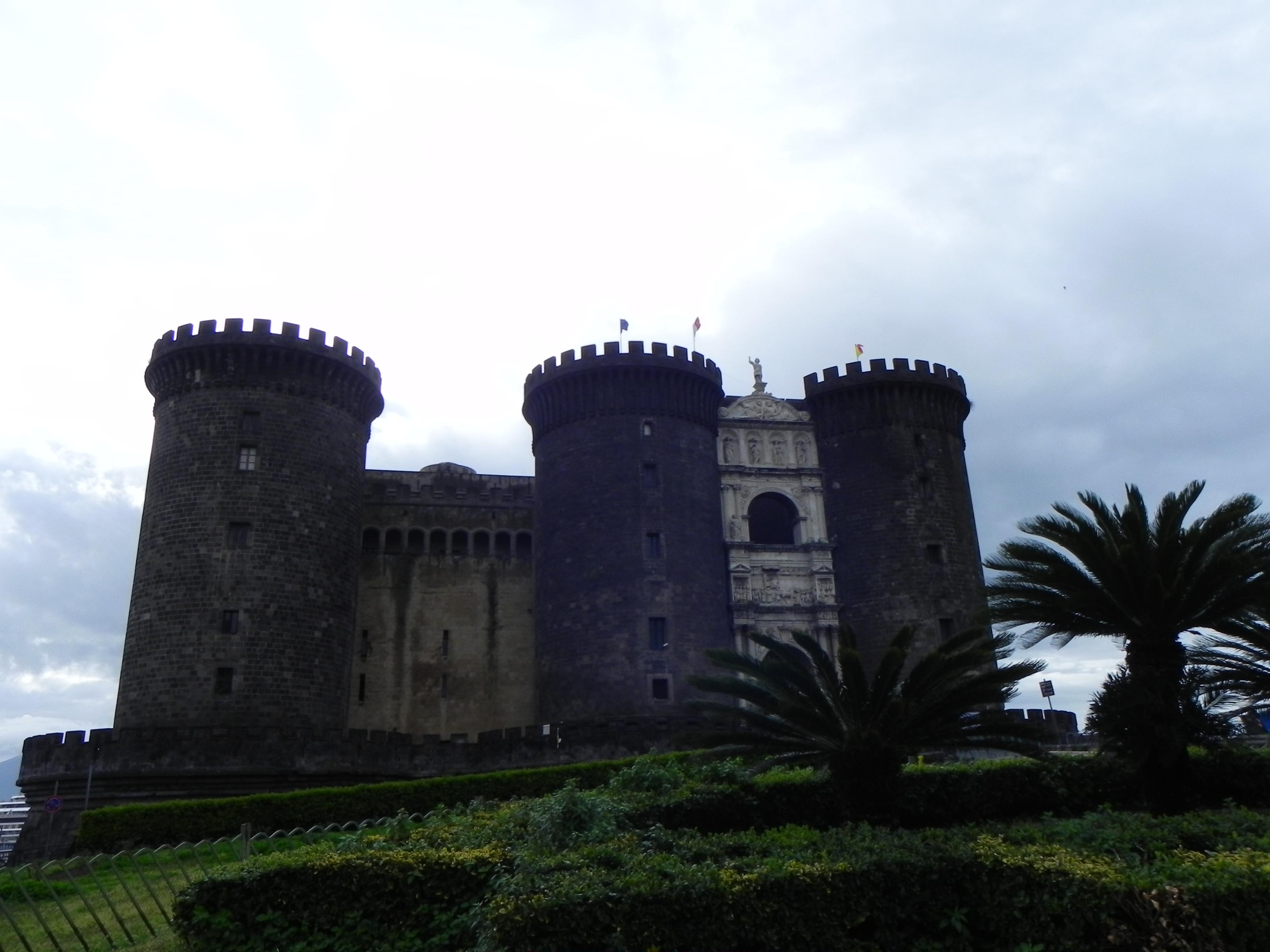 Harta cu obiectivele turistice din Napoli