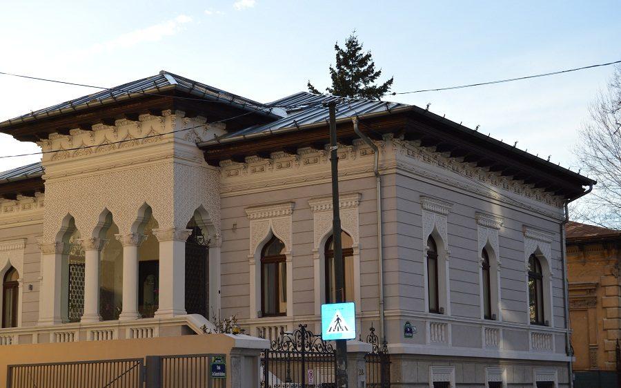 Tur de Bucuresti case din romane celebre