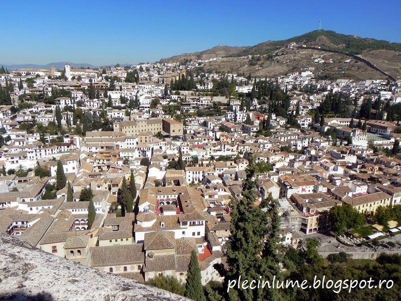 Cartierul Albaicin Granada