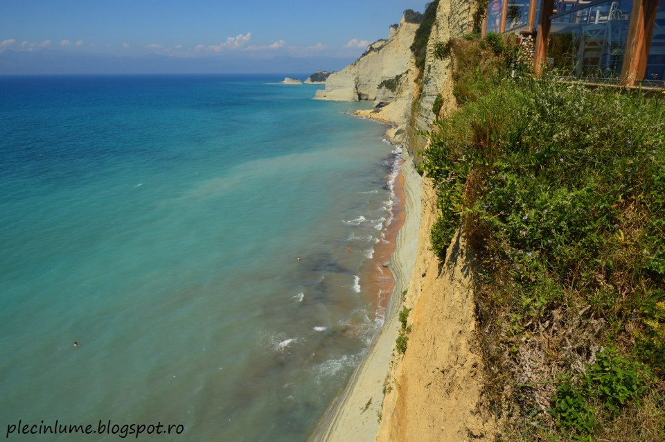 Plaja Logas din Peroulades, Corfu