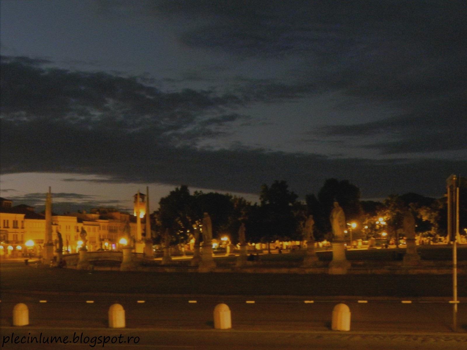 Noaptea in Padova