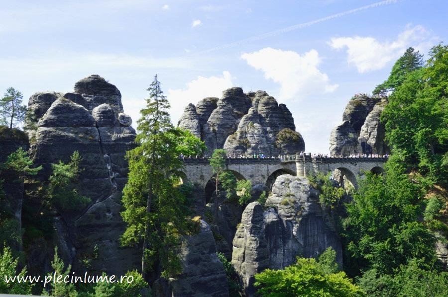 Podul Bastei din Elvetia saxona
