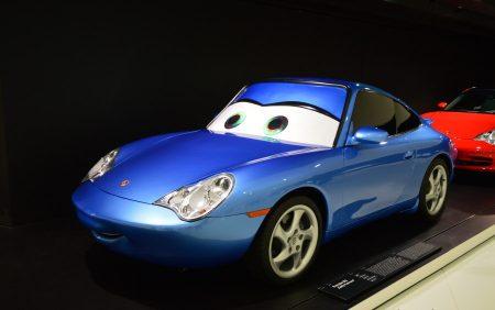 la Muzeul Porsche din Stuttgart