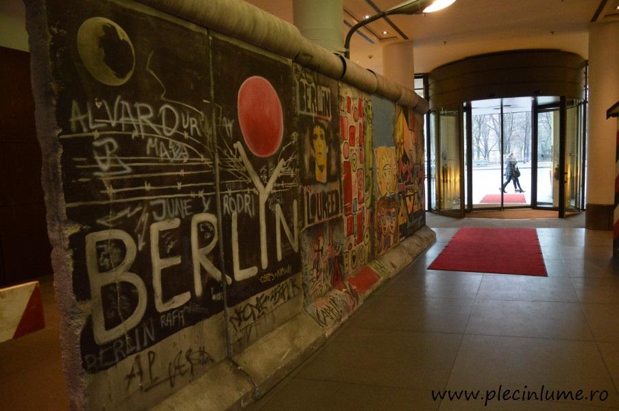 Zidul Berlinului in hotel