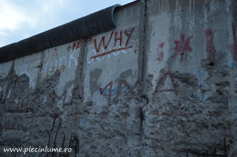 Zidul Berlinului - o scurta istoaire si ramasitele lui