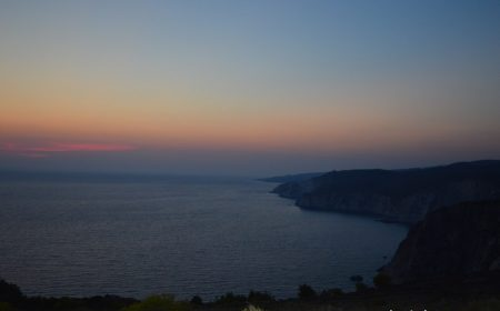 Apus de soare la capul Keri, Zakynthos