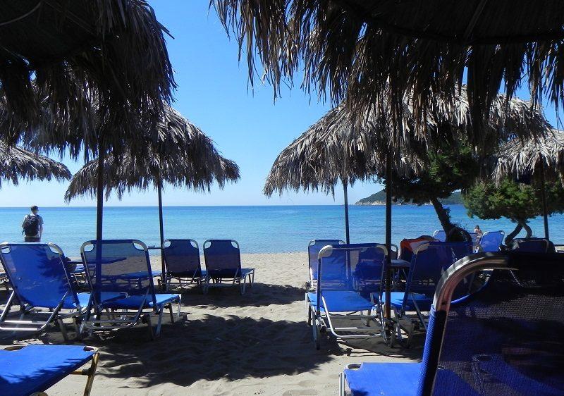 Plaja Dafni din Zakynthos