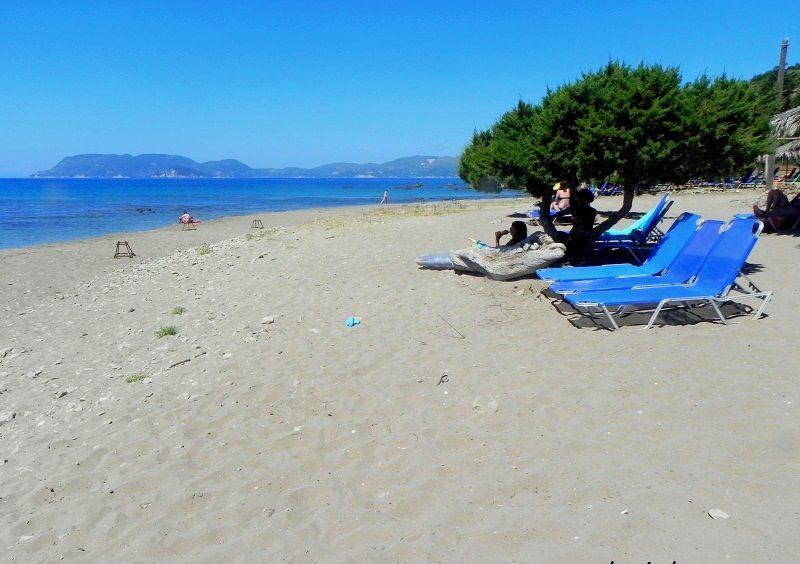 Cu copiii in Zakynthos - plaja Geraka