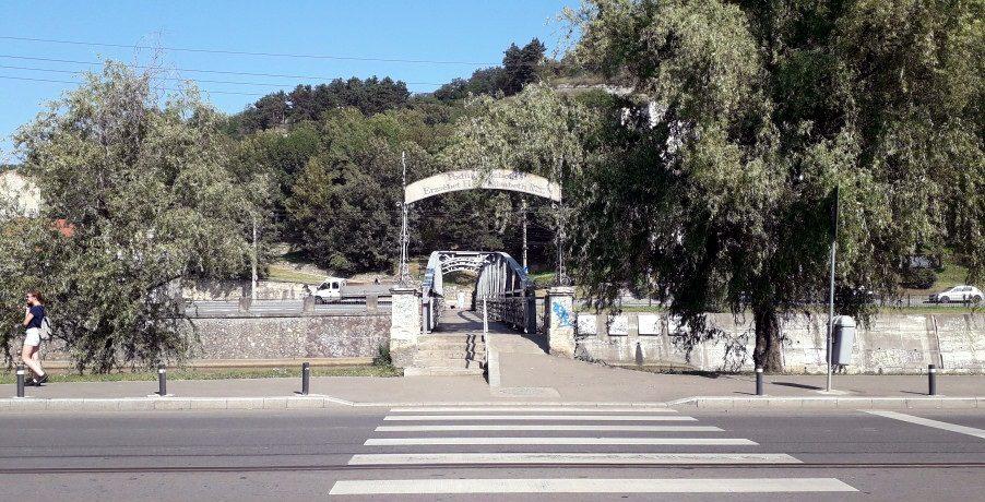 Podul cu lacate din Cluj