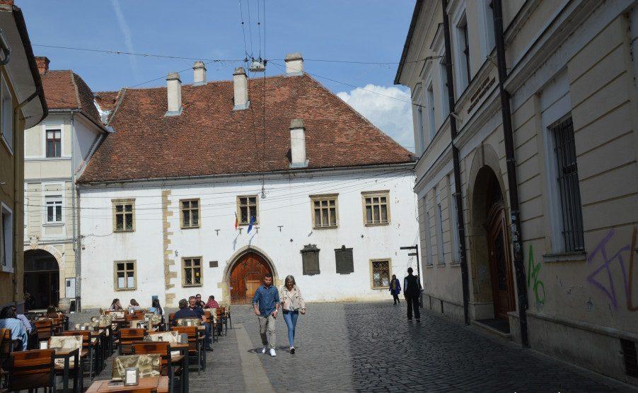 Casa lui Matei Corvin din Cluj