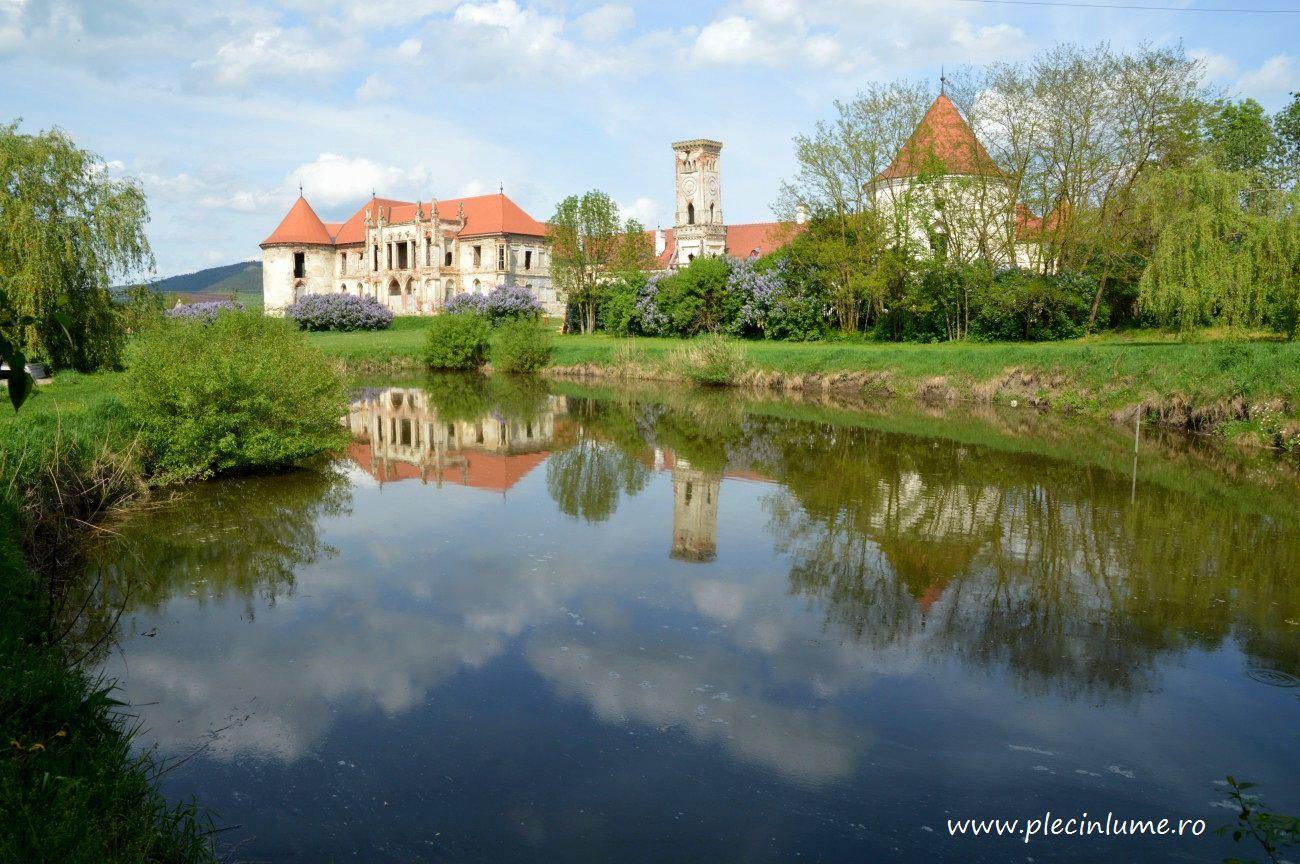 Castelul Banffy din Rascrusi, judetul Cluj