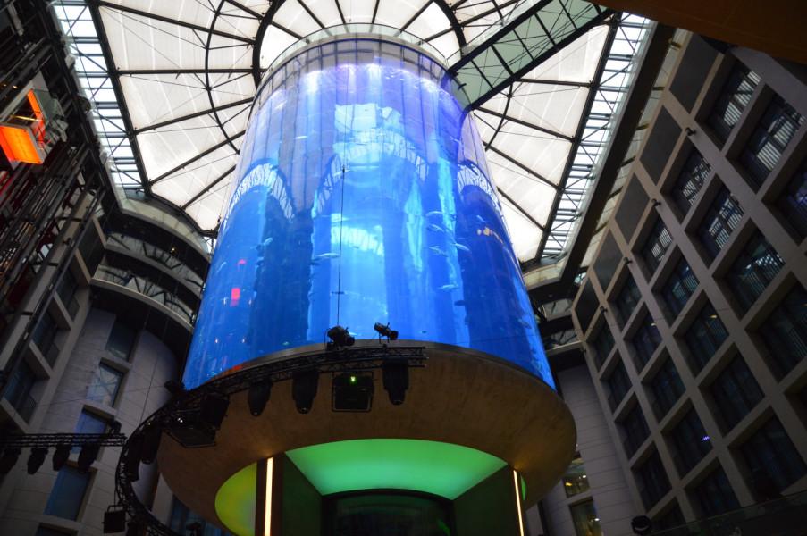 Aquadom din Berlin