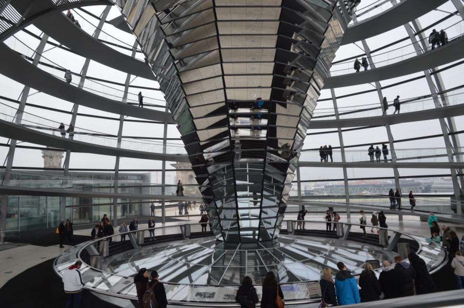 Cupola Parlamentului din Berlin