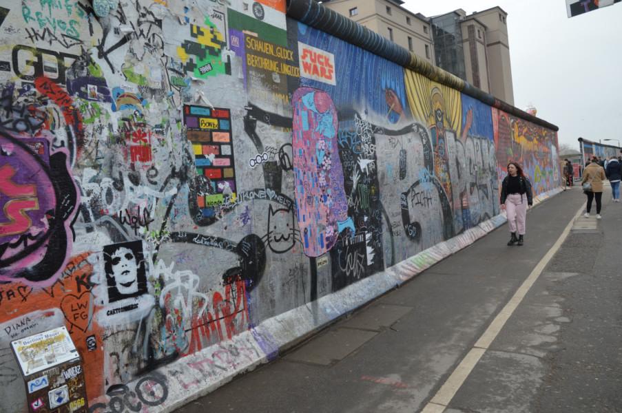 Zidul Berlinului Galeria din cartierul de Est