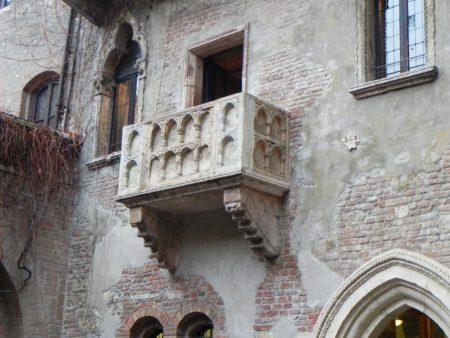 Balconul Julietei din Verona