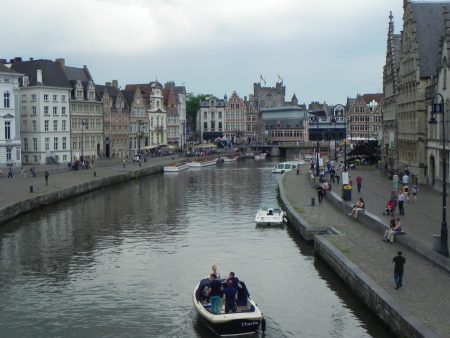 Orasul Ghent Belgia