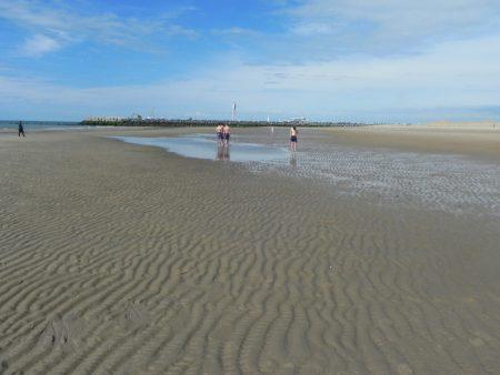 Plaja in Belgia