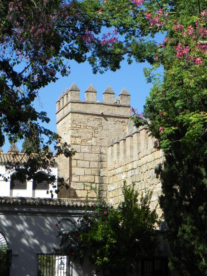 palatul Real de Alcazar in Sevilia