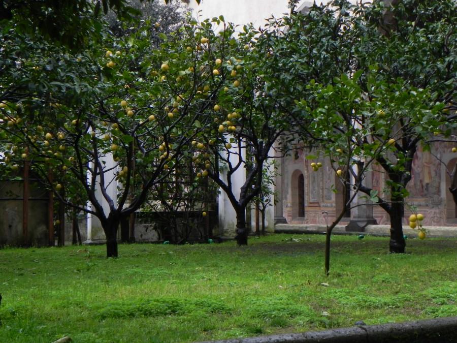 Napoli obiective turistice: Manastirea Santa Chiara