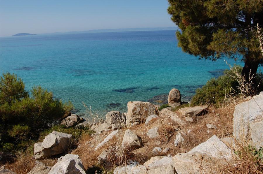 Plaja in Sithonia