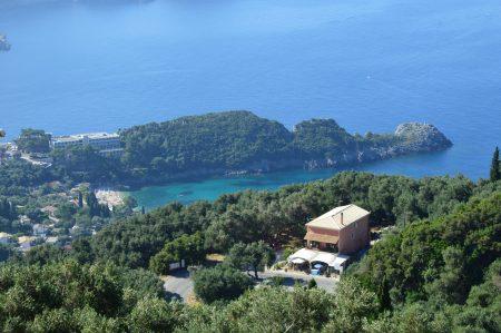 belvedere in Corfu