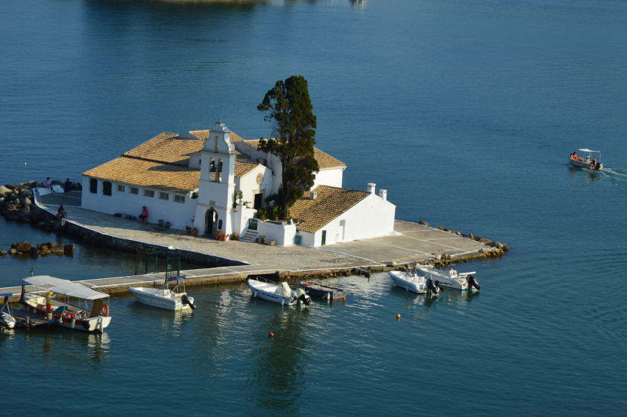 Insula Corfu obiective turistice