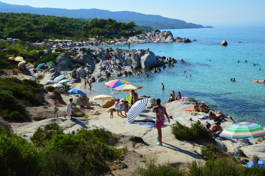 Cele mai bune plaje din Sithonia Halkidiki