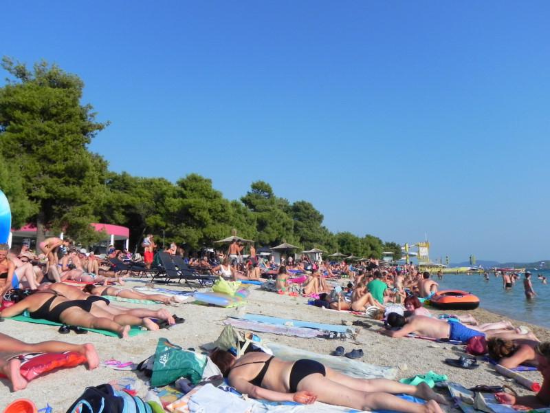Plaja Vodice Croatia