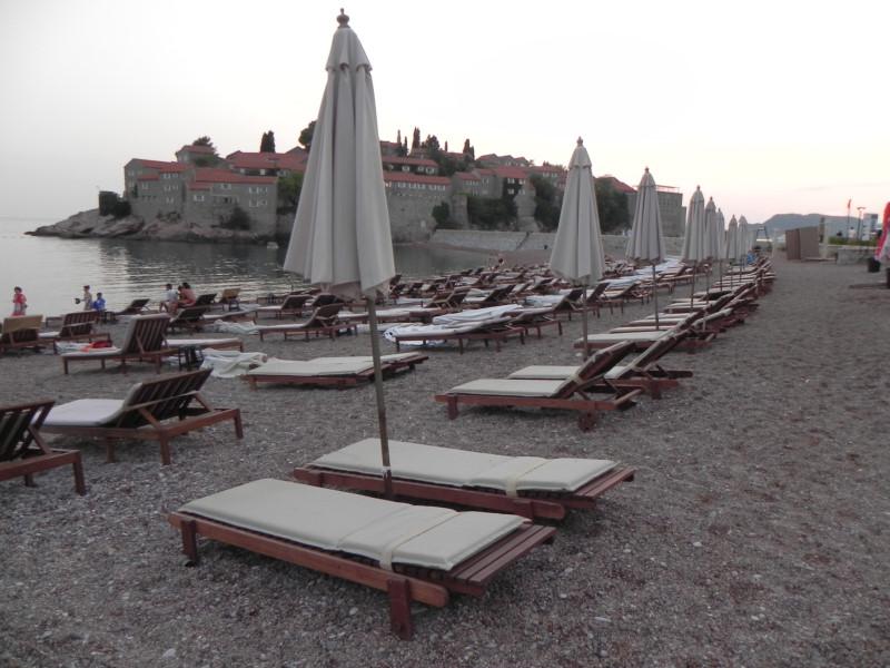 Plaja Sveti Stefan