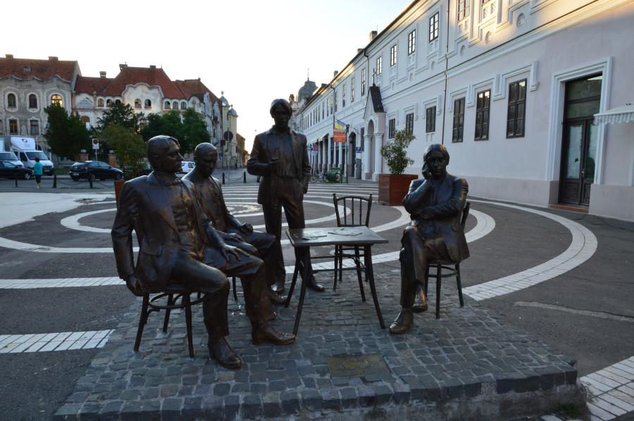 Statuia Holnaposok Oradea