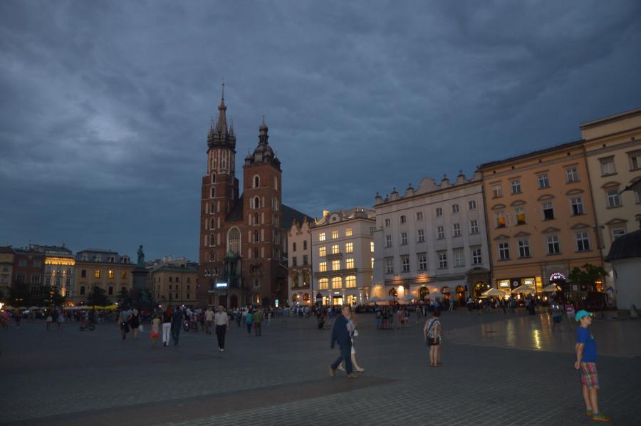 Obiective turistice in Cracovia - Basilica Sfanta Maria
