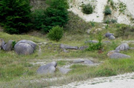 Trovantii din Valcea