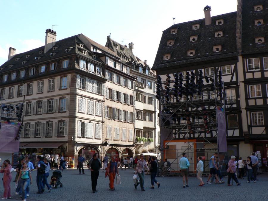 O zi in Strasbourg Franta