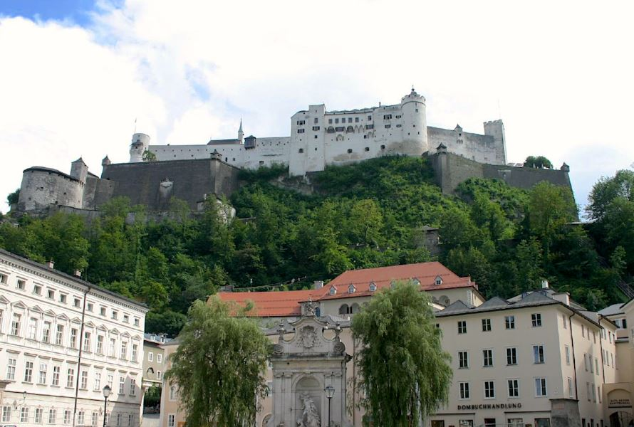 Salzburg top attractions Hohensalzburg Fortress