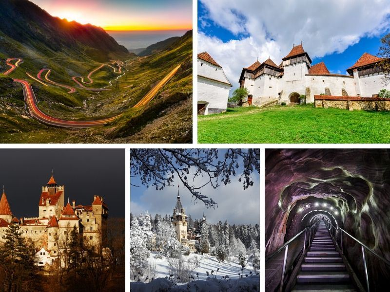 Top 10 tourist attractions in Romania