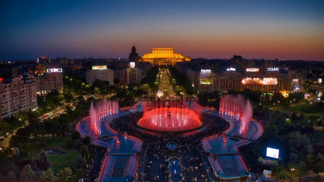 Bucharest water show