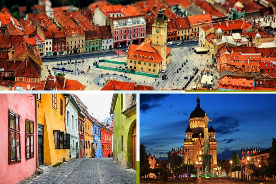 Most beautiful cities in Romania